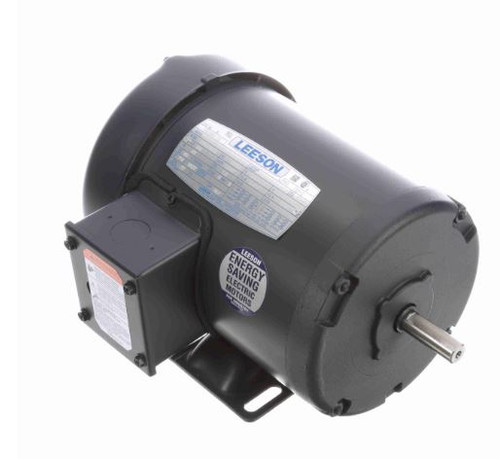 100960.00 Leeson |  3/4 hp 3450 RPM 48 Frame 208-230/460 Volts TEFC