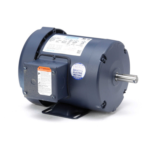 110034.00 Leeson |  3/4 hp 1725 RPM 56 Frame 208-230/460 Volts TEFC
