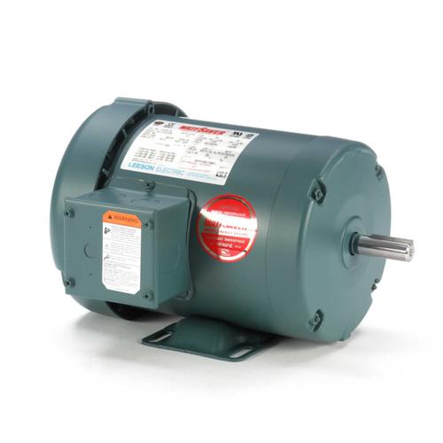 116739.00 Leeson |  3/4 hp 1725 RPM 56 Frame 208-230/460 Volts TEFC