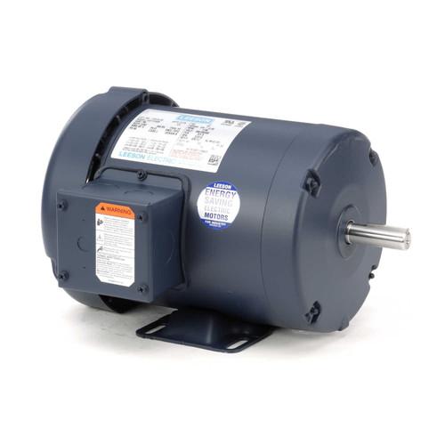 110275.00 Leeson |  3/4 hp 1200 RPM 56 Frame 208-230/460 Volts TEFC