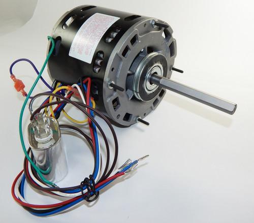1/2 hp 1075 rpm 4-speed 48 frame 115v direct drive furnace motor # em3463
