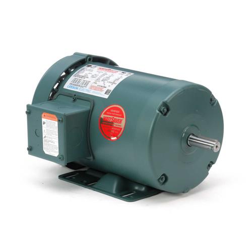 116757.00 Leeson |  1 hp 1725 RPM 56 Frame 230/460 Volts TEFC