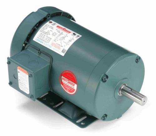 1 hp 1200 RPM 145T Frame 230/460V TEFC Leeson Electric Motor # 121520