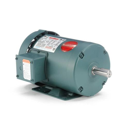 121518.00 Leeson |  1.5 hp 3450 RPM 143T Frame 230/460 Volts TEFC