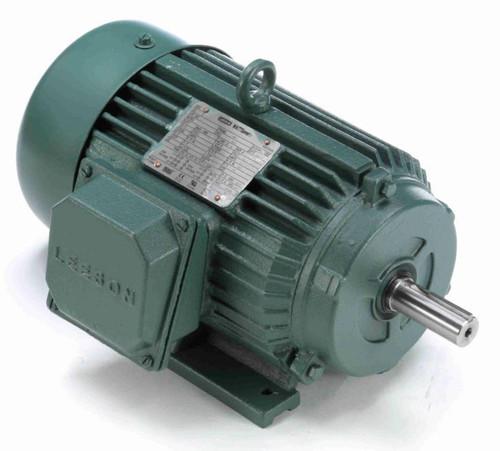171642.60 Leeson |  1.5 hp 3600 RPM 143T Frame 208-230/460 Volts TEFC