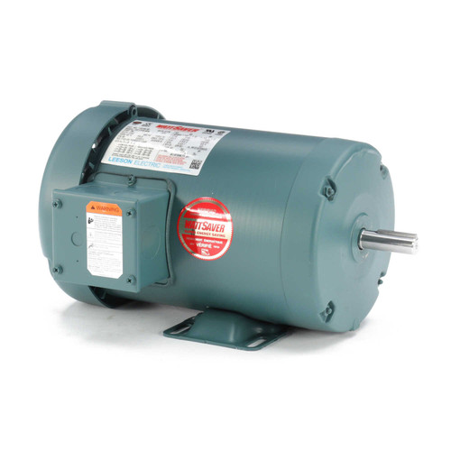 116759.00 Leeson |  1.5 hp 1725 RPM 56 Frame 230/460 Volts TEFC