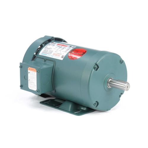 120922.00 Leeson |  1.5 hp 1725 RPM 145T Frame 230/460 Volts TEFC