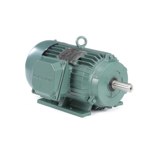171646.60 Leeson |  1.5 hp 1800 RPM 145T Frame 208-230/460 Volts TEFC