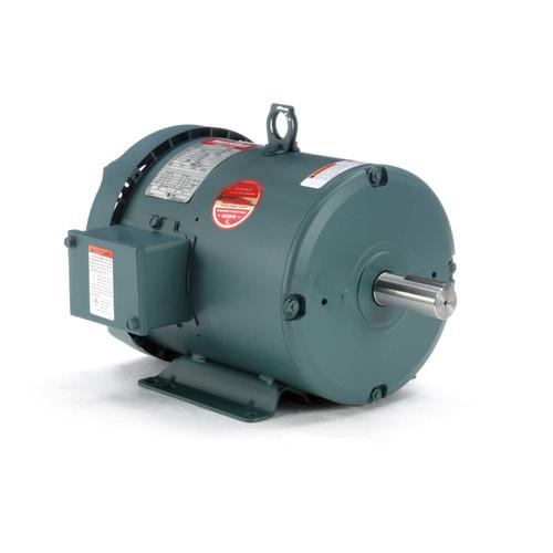 131980.00 Leeson |  1.5 hp 1200 RPM 182T Frame 230/460 Volts TEFC