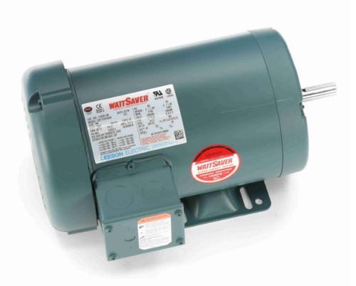 116761.00 Leeson |  2 hp 1725 RPM 56H Frame 230/460 Volts TEFC