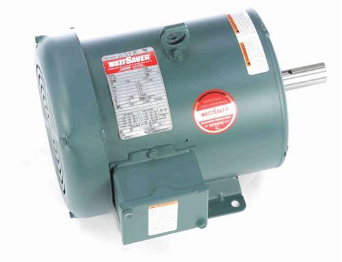 3 hp 1800 RPM 182T Frame 230/460V TEFC Leeson Electric Motor # 131463