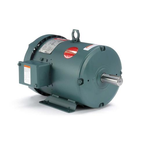 131987.00 Leeson |  5 hp 3600 RPM 184T Frame 230/460V TEFC