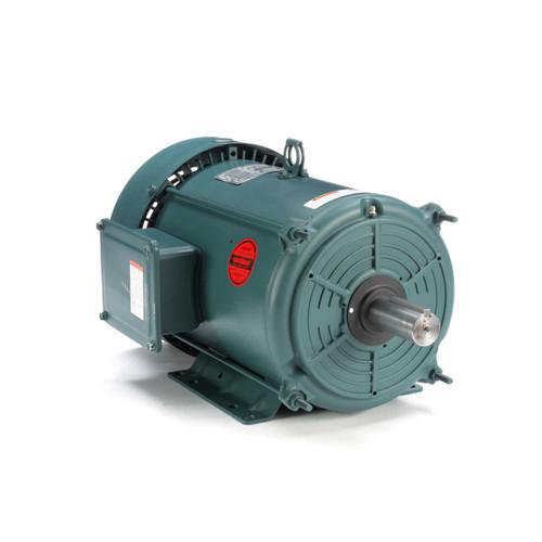 7.5 hp 3600 RPM 213T Frame 230/460V TEFC Leeson Electric Motor # 140756