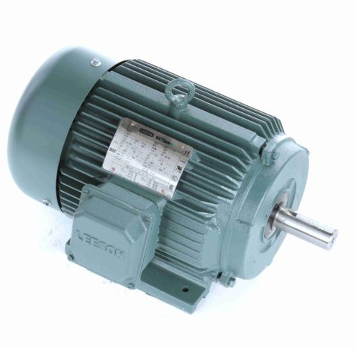 170615.60 Leeson |  15 hp 3600 RPM 215T Frame 208-230/460 Volts TEFC