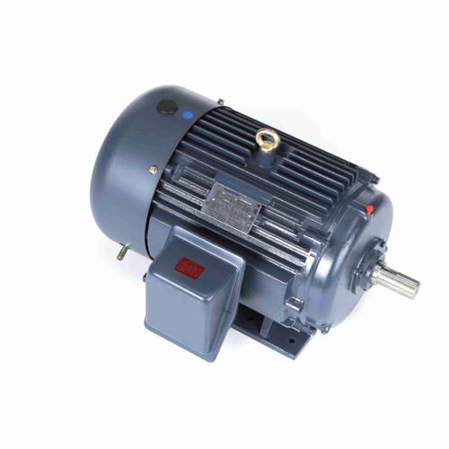 25 hp 3600 RPM 284TS Frame 208-230/460V TEFC Marathon Electric Motor # GT1027A