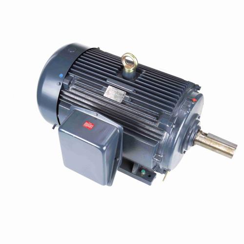 GT1047A Marathon 100 hp 1200 RPM 444T Frame 230/460V TEFC Electric Motor