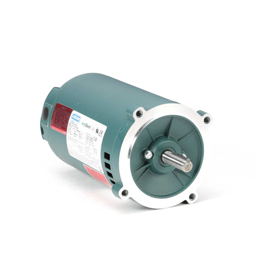 E102695.00 Leeson |  1/3 hp 1800 RPM 56C Frame ODP C-Face (no base) 230/460V