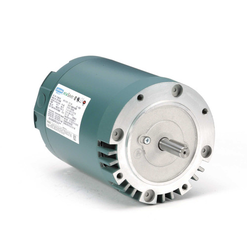 E114934.00 Leeson |  3/4 hp 1800 RPM 56C Frame ODP C-Face (no base) 230/460V