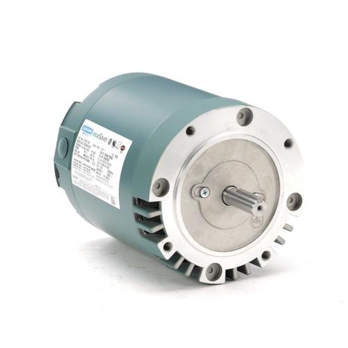 E110111.00 Leeson |  1 hp 3600 RPM 56C Frame ODP C-Face (no base) 230/460V