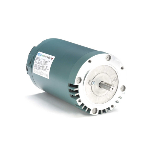 E116742.00 Leeson |  2 hp 1800 RPM 56C Frame ODP C-Face (no base) 230/460V