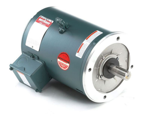 131518.00 Leeson |  3 hp 1800 RPM 182TC Frame ODP C-Face (no base) 230/460V