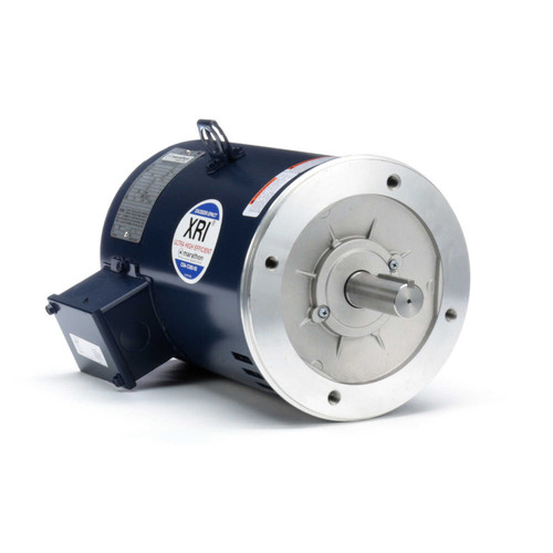 C105C Marathon 7.5 hp 3600 RPM 184TC Frame ODP C-Face (no base) 230/460V Marathon Electric Motor