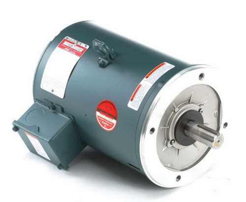 140483.00 Leeson |  7.5 hp 1800 RPM 213TC Frame ODP C-Face (no base) 230/460V