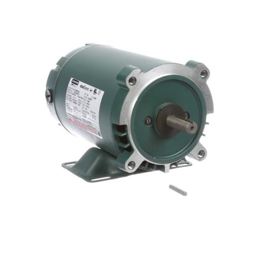 E100600.00 Leeson |  1/2 hp 3600 RPM 56C Frame ODP C-Face (rigid Base) 230/460V
