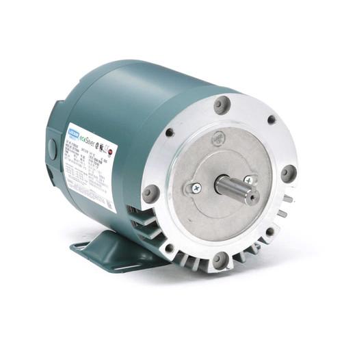 E119353.00 Leeson |  1/2 hp 1800 RPM 56C Frame ODP C-Face (rigid Base) 230/460V