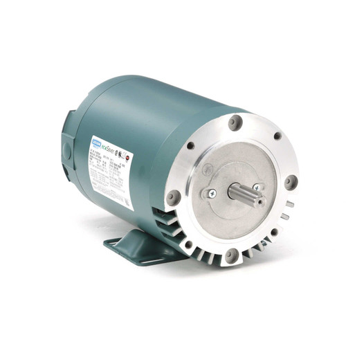 E116763.00 Leeson |  1 hp 1800 RPM 56C Frame ODP C-Face (rigid Base) 230/460V
