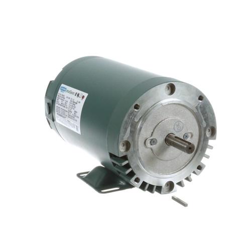 1.5 hp 1800 RPM 56C Frame ODP C-Face (rigid Base) 230/460V Leeson Electric Motor # E116764