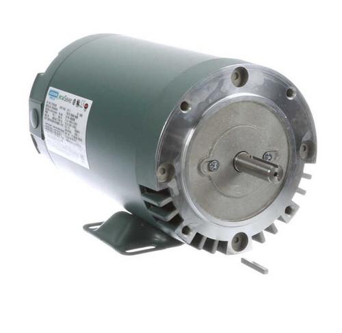 E114218.00 Leeson |  2 hp 3600 RPM 56C Frame ODP C-Face (rigid Base) 230/460V