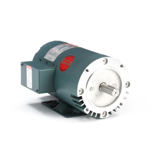 121676.00 Leeson |  2 hp 1800 RPM 145TC Frame ODP C-Face (rigid Base) 230/460V