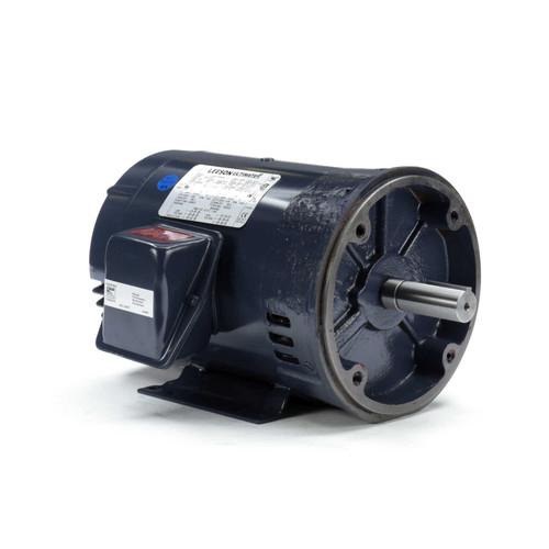 5 hp 1800 RPM 184TC Frame ODP C-Face (rigid Base) 230/460V Marathon Electric Motor # GT0213