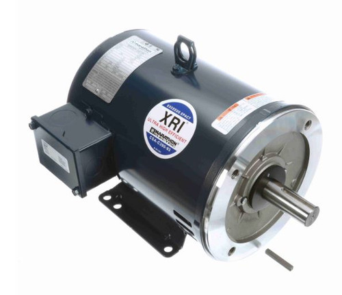U404B Marathon 7.5 hp 3450 RPM 184TC Frame ODP C-Face (rigid Base) 208-230/460V Electric Motor