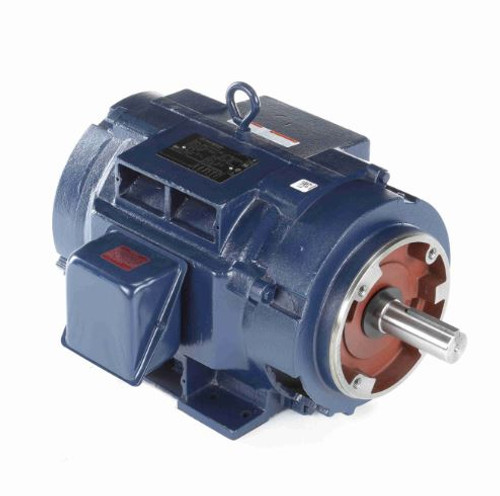 U436A Marathon 15 hp 1760 RPM 254TC Frame ODP C-Face (rigid Base) 208-230/460V Electric Motor