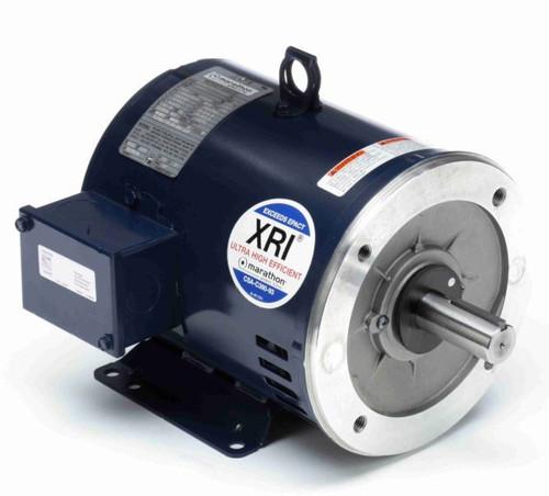 U437 Marathon 20 hp 3600 RPM 254TC Frame ODP C-Face (rigid Base) 230/460V Marathon Electric Motor
