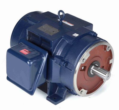 40 hp 1800 RPM 324TSC Frame ODP C-Face (rigid Base) 230/460V Marathon Electric Motor # U444A
