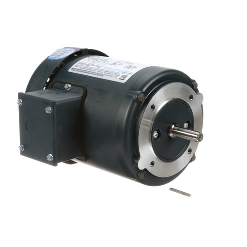 102662.00 Leeson |  1/6 hp 1800 RPM 48C Frame TEFC C-Face (No Base) 208-230/460V