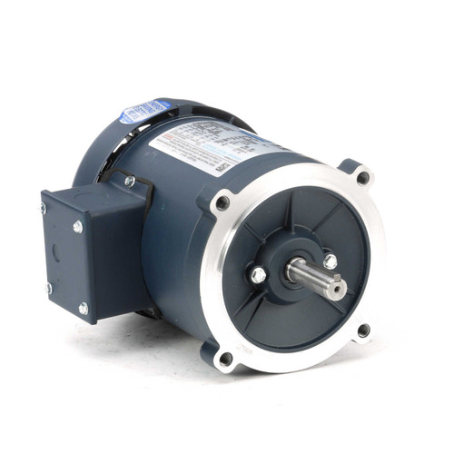 101767.00 Leeson |  1/4 hp 1800 RPM 56C Frame TEFC C-Face (No Base) 208-230/460V