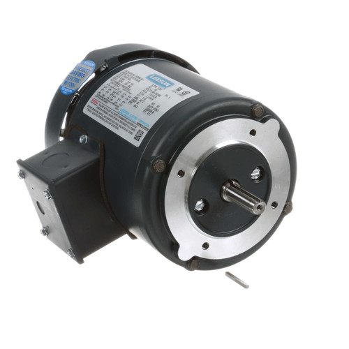 102664.00 Leeson |  1/3 hp 1800 RPM 48C Frame TEFC C-Face (No Base) 208-230/460V