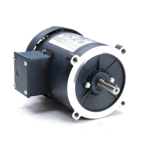 101769.00 Leeson |  1/3 hp 1800 RPM 56C Frame TEFC C-Face (No Base) 208-230/460V
