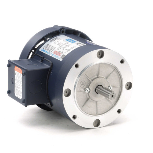 114176.00 Leeson |  1/2 hp 3600 RPM 56C Frame TEFC C-Face (No Base) 208-230/460V