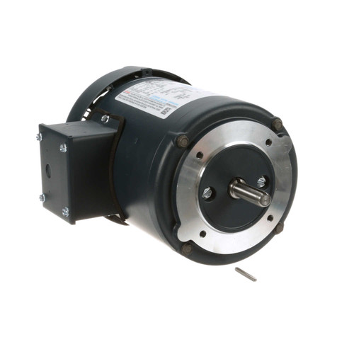 102666.00 Leeson |  1/2 hp 1725 RPM 48CZ Frame TEFC C-Face (No Base) 208-230/460V