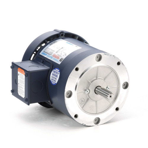 110047.00 Leeson |  3/4 hp 1800 RPM 56C Frame TEFC C-Face (No Base) 208-230/460V