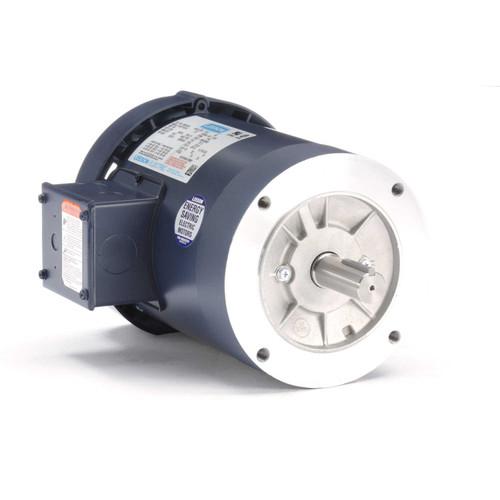 120097.00 Leeson |  3/4 hp 1140 RPM 143TC Frame TEFC C-Face (No Base) 208-230/460V