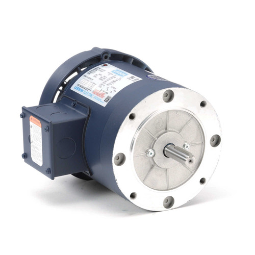 110112.00 Leeson |  1 hp 3600 RPM 56C Frame TEFC C-Face (No Base) 230/460V