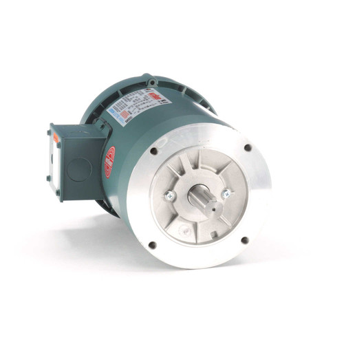 121067.00 Leeson |  1 hp 1800 RPM 143TC Frame TEFC C-Face (No Base) 230/460V