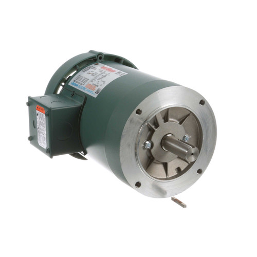 122166.00 Leeson |  1.5 hp 3600 RPM 143TC Frame TEFC C-Face (No Base) 208-230/460V