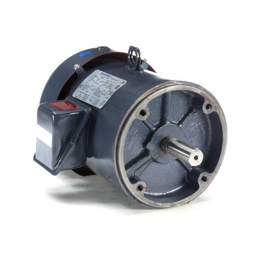 1.5 hp 1200 RPM 182TC Frame TEFC C-Face (No Base) 230/460V Marathon Electric Motor # GT1305A
